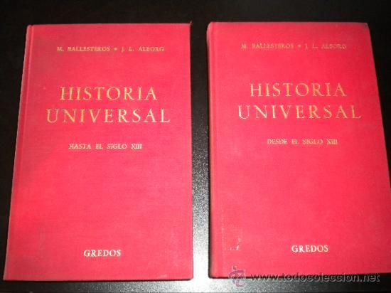 HISTORIA UNIVERSAL. HASTA EL SIGLO XIII. QUINTA EDICIÓN AMPLIADA. TOMOS I Y II (Libros de Segunda Mano - Historia - Otros)