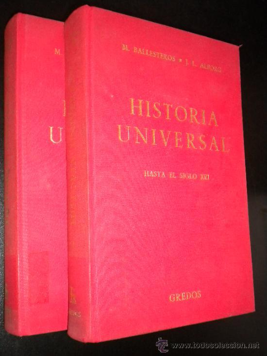 Libros de segunda mano: HISTORIA UNIVERSAL. HASTA EL SIGLO XIII. Quinta Edición Ampliada. Tomos I y II - Foto 2 - 37137039
