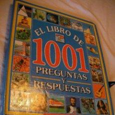 Libros de segunda mano: EL LIBRO DE 1001 PREGUNTAS Y RESPUESTAS (EM3). Lote 37157165