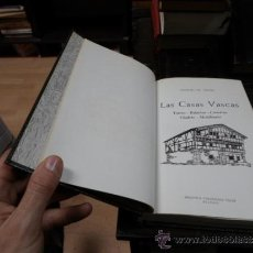Libros de segunda mano: JOAQUIN DE YRIZAR, LAS CASAS VASCAS, BIBLIOTECA VASCONGADA VILLAR, BILBAO, 1965. Lote 37156683