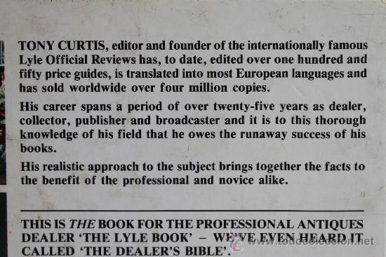 Libros de segunda mano: THE LYLE OFFICIAL ANTIQUES REVIEW 1988 – TONY CURTIS –LA MAS AMPLIA GUIA PRECIOS PARA COLECCIONISTAS - Foto 5 - 37209882