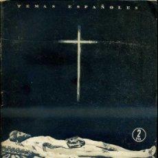 Libros de segunda mano: TEMAS ESPAÑOLES Nº144 : IMAGINEROS (1955). Lote 37254229