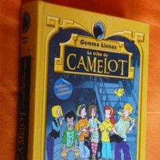 Libros de segunda mano: LA TRIBU DE CAMELOT .LA CARLOTA I EL MISTERI DEL CANARI ROBAT .GEMMA LIENAS 1ª EDICIO 2008 CATALAN. Lote 37335760