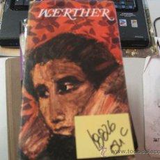 Libros de segunda mano: WERTHERGOETHETAPA DURA CON SOBRECUBIERTA4 €. Lote 38065849