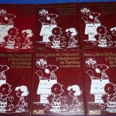 Libros de segunda mano: GRAN LIBRO DE PREGUNTAS Y RESPUESTAS DE CARLITOS - SNOOPY - EDITORIAL JUNIOR - GRIJALBO. Lote 37357281