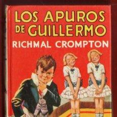 Libros de segunda mano: LOS APUROS DE GUILLERMO - RICHMAL CROMPTON - ED. MOLINO - TAPAS DURAS - AÑO 1979 . Lote 37361580