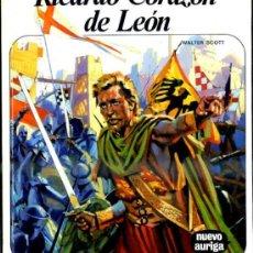 Libros de segunda mano: NUEVO AURIGA Nº 73 - WALTER SCOTT : RICARDO CORAZÓN DE LEÓN (1982). Lote 37365240