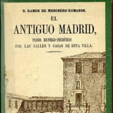 Gebrauchte Bücher - mesonero-romanos -el antiguo madrid - 37421292