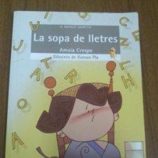 Libros de segunda mano: LIBRO LA SOPA DE LLETRES. Lote 37443633
