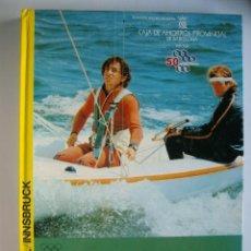 Libros de segunda mano: *OLIMPIADA 1976* - EDICIÓN GENTILEZA DE CAJA DE AHORROS PROVINCIAL DE BARCELONA . Lote 37461457