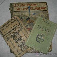 Libros de segunda mano: LOTE LIBROS ANTIGUOS HISTORIA. Lote 37461597