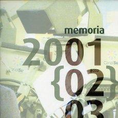 Libros de segunda mano: RTVA. MEMORIA 2001 {02} 03. Lote 37486538