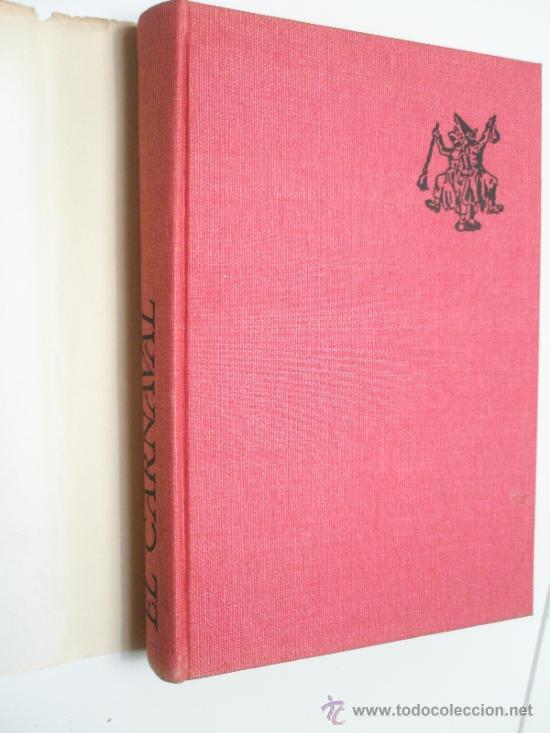 Libros de segunda mano: Caro Baroja, J.: El Carnaval. (Análisis Histórico-Cultural). (1965) - Foto 2 - 37614731