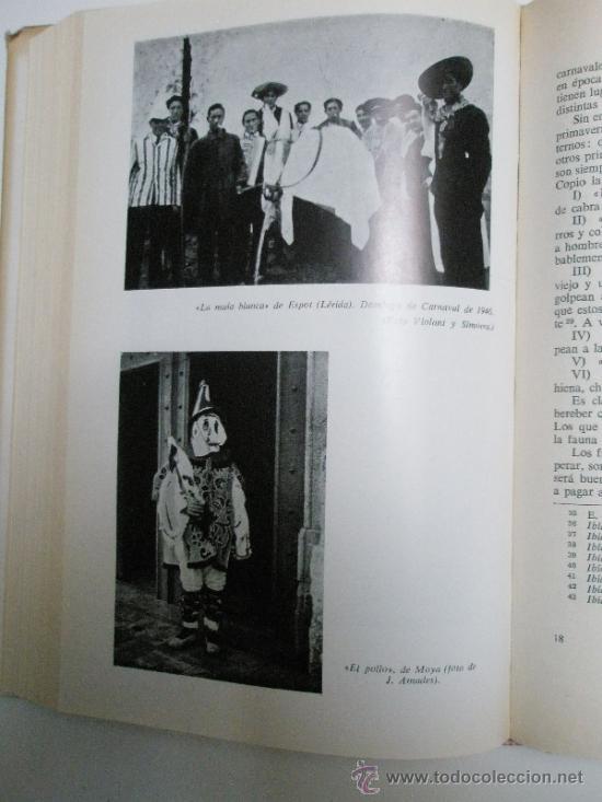 Libros de segunda mano: Caro Baroja, J.: El Carnaval. (Análisis Histórico-Cultural). (1965) - Foto 7 - 37614731