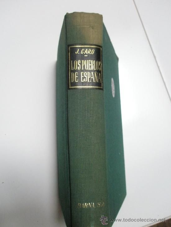 Libros de segunda mano: Caro Baroja,J.: Los pueblos de España. Ensayo de Etnología. (1946) - Foto 3 - 37614559