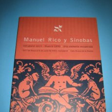 Libros de segunda mano: VALLADOLID - LIBRO ANTIGUO - ENCUADERNACION - RICO Y SINOBAS 1819 - 1898 VER DESCRIPCION Y FOTOS. Lote 37641374