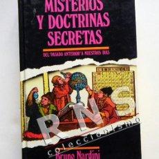 Libros de segunda mano: MISTERIOS Y DOCTRINAS SECRETAS LIBRO ATLÁNTIDA MUERTE ESOTERISMO MISTERIO LOS CÁTAROS ETC ILUSTRADO. Lote 37670718