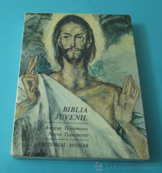 Libros de segunda mano: BIBLIA JUVENIL. TOMO I - ANTIGUO TESTAMENTO. TOMO II - NUEVO TESTAMENTO - Foto 2 - 37742276