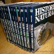 Libros de segunda mano: HISTORIA NATURAL 12T DE EDITORIAL OCÉANO / INSTITUTO GALLACH EN NAVARRA 1996. Lote 37770093