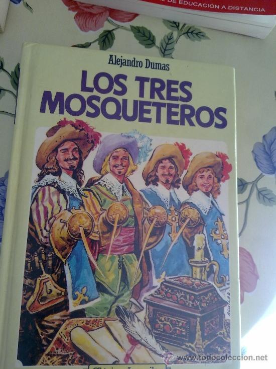 LOS TRES MOSQUETEROS ALEJANDRO DUMAS CLASICOS JUVENILES EST19B4 (Libros de Segunda Mano (posteriores a 1936) - Literatura - Otros)
