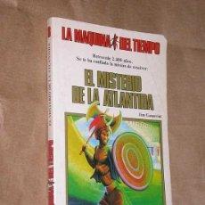 Libros de segunda mano: LA MAQUINA DEL TIEMPO Nº 8 EL MISTERIO DE LA ATLANTIDA. GASPERINI, SMITH. LIBRO JUEGO TIMUN MAS 1985. Lote 206961998