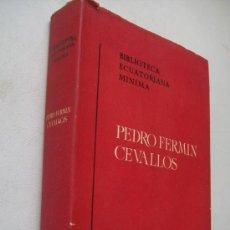 Libros de segunda mano: PEDRO FERMÍN CEVALLOS-BIBLIOTECA ECUATORIANA MINIMA-LA COLONIA Y LA REPÚBLICA-1960. Lote 37886136