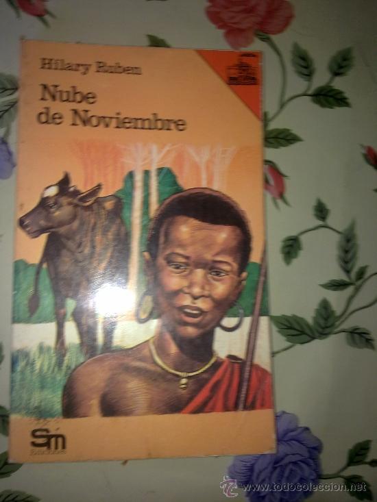 NUBE DE NOVIEMBRE HILARY RUBEN EDICIONES S. M 1977 EST11B3 (Libros de Segunda Mano (posteriores a 1936) - Literatura - Otros)