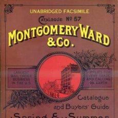 Libros de segunda mano: MONTGOMERY WARD & CO. CATALOGUE 1895 (FACSÍMIL) APEROS Y ÚTILES DEL FAR WEST. Lote 37905435