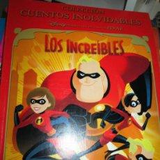 Libros de segunda mano: LIBRO INFANTIL DE LA PELICULA LOS INCREIBLES DISNEY PIXAR 2005. Lote 38035184