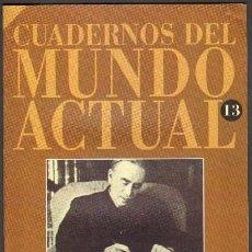 Libros de segunda mano: KEYNES Y SUS TEORIAS ECONOMICAS. HISTORIA 16. H16MUNDO-013. Lote 194935033