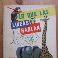 Libros de segunda mano - LO QUE LAS LINEAS HABLAN - R. Y L.LAMBRY - EDIT. TEIDE AÑO 1963 - 38030941