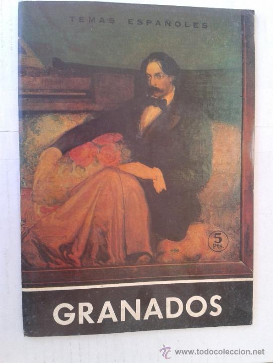 TEMAS ESPAÑOLES GRANADOS Nº473 GRANADOS AÑO 1966 (Libros de Segunda Mano - Historia - Otros)