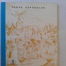 Libros de segunda mano: TEMAS ESPAÑOLES INICIACION AL TEATRO Nº 489 AÑO 1968. Lote 38032770