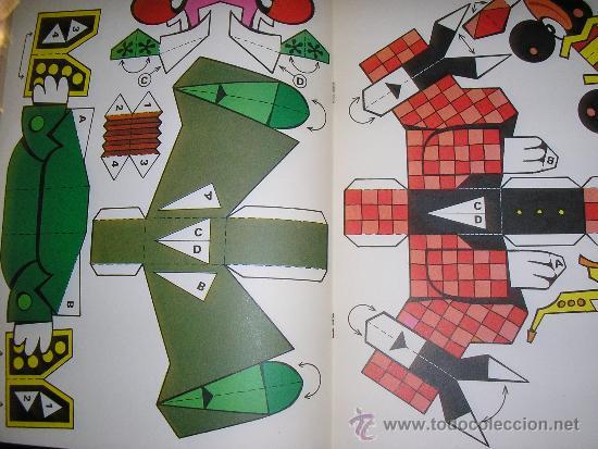 Libros de segunda mano: RECORTABLES PARA NIÑOS (PAYASOS) - Nº 5 - BRUGUERA - 1980 - ESPAÑA - RARO!! - Foto 2 - 38064489