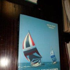 Libros de segunda mano: JOSE DE SIMON QUINTANA, PATRONES DE EMBARCACIONES DE RECREO, 1990. Lote 38107402