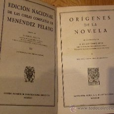 Libros de segunda mano: OBRAS COMPLETAS TOMO 1 MARCELINO MENÉNDEZ PELAYO CSIC AÑO 1943. Lote 38108267