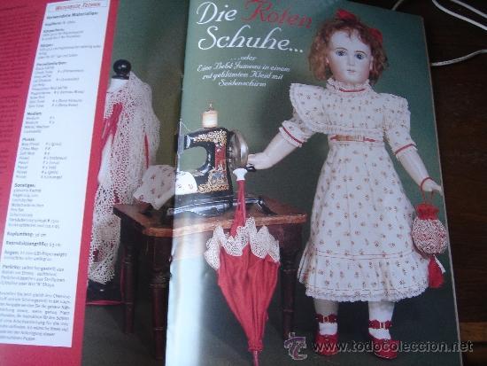 Muñecas Antiguas - Libro Revista Patrones - Jumeau Simon Halbig Steiner - 4 / 1997
