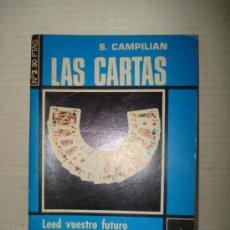 Libros de segunda mano: ANTIGUO LIBRO ** LAS CARTAS ** PARA LEER EL FUTURO DE S. CAMPILIAN DEL AÑO 1975 . .. Lote 38232295