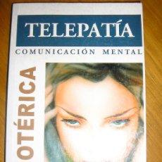 Libros de segunda mano: TELEPATIA COMUNICACION MENTAL, POR DR. F. SMAYER Y DR. H. MCLEAN - ASTRI - ESPAÑA - 2000. Lote 38214116