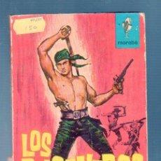 Libros de segunda mano: LOS BUCANEROS. R. V. CASSILL. ED. BRUGUERA. 1963. 157 PÁG. . Lote 38228807
