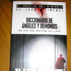 Libros de segunda mano: DICCIONARIO DE ANGELES Y DEMONIOS, POR SIMON COX - EDAF - ESPAÑA - NUEVO. Lote 38311187