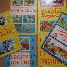 Gebrauchte Bücher - Nº109.-6 LIBROS COLECCION CURIOSIDADES DE LOS ANIMALES. - 38315222