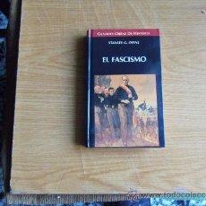 Libri di seconda mano: STANLEY G.PAINE--EL FASCISMO-. Lote 38319407