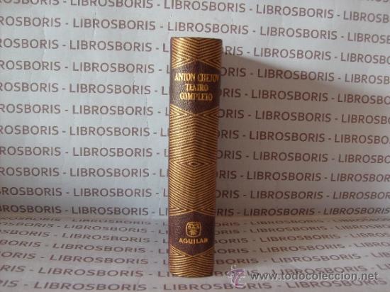 CHEJOV - TEATRO COMPLETO - AGUILAR - COLECCION JOYA. (Libros de Segunda Mano - Bellas artes, ocio y coleccionismo - Otros)