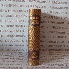 Libros de segunda mano: CHEJOV - TEATRO COMPLETO - AGUILAR - COLECCION JOYA.. Lote 38321410