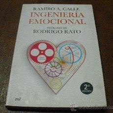 Libros de segunda mano: LIBRO: INGENIERIA EMOCIONAL DE RAMIRO A. CALLE. Lote 38357860