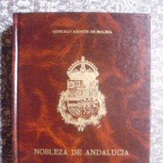 Libros de segunda mano: NOBLEZA DE ANDALUCÍA, SIGLO XVI (EDICIÓN FACSÍMIL, 1.991) ARGOTE DE MOLINA - NOBILIARIO - JAÉN. Lote 195388762