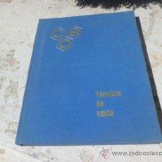 Libros de segunda mano: LIBRO TECNICAS DE VENTA TEMA 13 APOYOS VISUALES DE LA VENTA 1967 L-4274. Lote 38415053