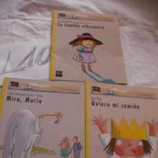 Libros de segunda mano: LOTE DE LIBROS BARCO DE VAPOR SM - LOS PIRATAS - ENVIO GRATIS A ESPAÑA. Lote 38483501