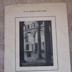 Libros de segunda mano: TOLEDO - EL MONASTERIO CISTERCIENSE DE SAN CLEMENTE. 1977. Lote 38496294